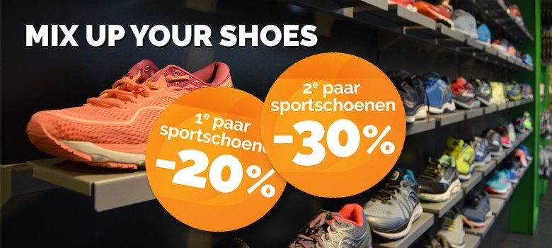 Sportweken_Mix Up Your Shoes_Korting